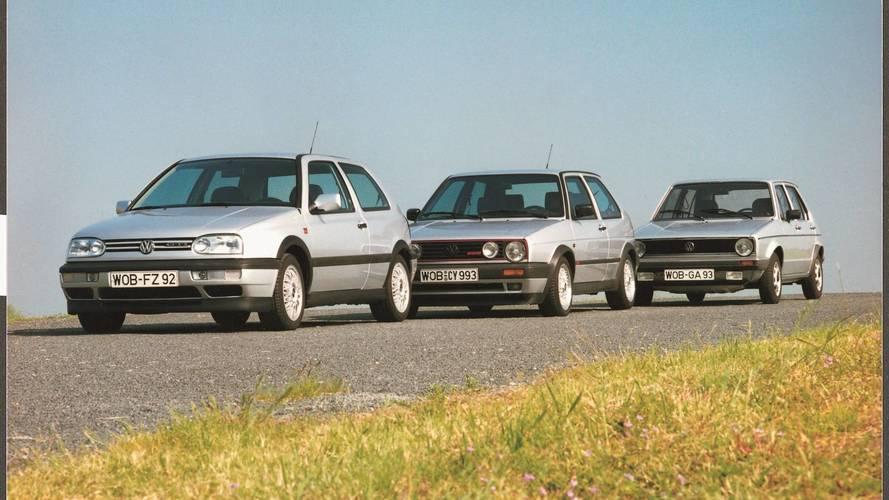 VW Golf GTI - első három széria