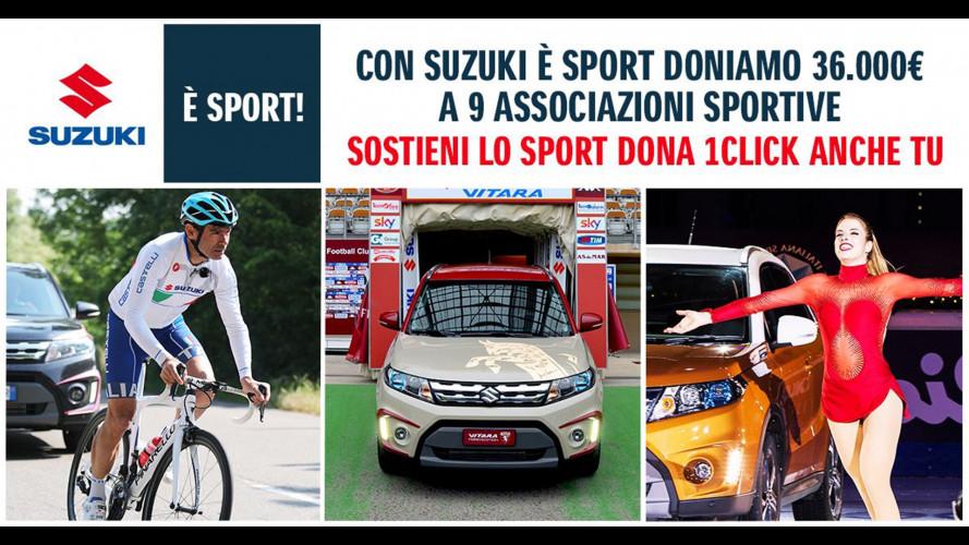 """""""Suzuki è Sport"""", un modo per sostenere lo sport dilettantistico"""