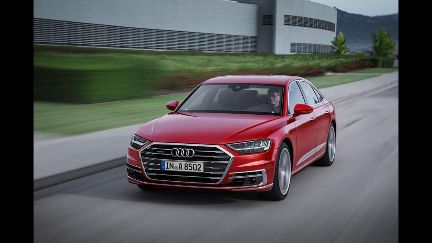 Nuova Audi A8, la prima che guida da sola [VIDEO]