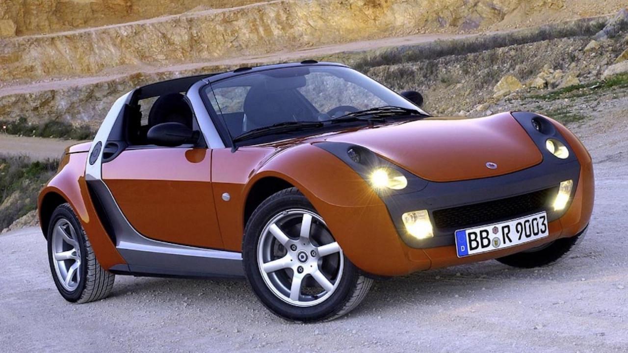 [Copertina] - Smart Roadster, la sportiva dalla storia breve
