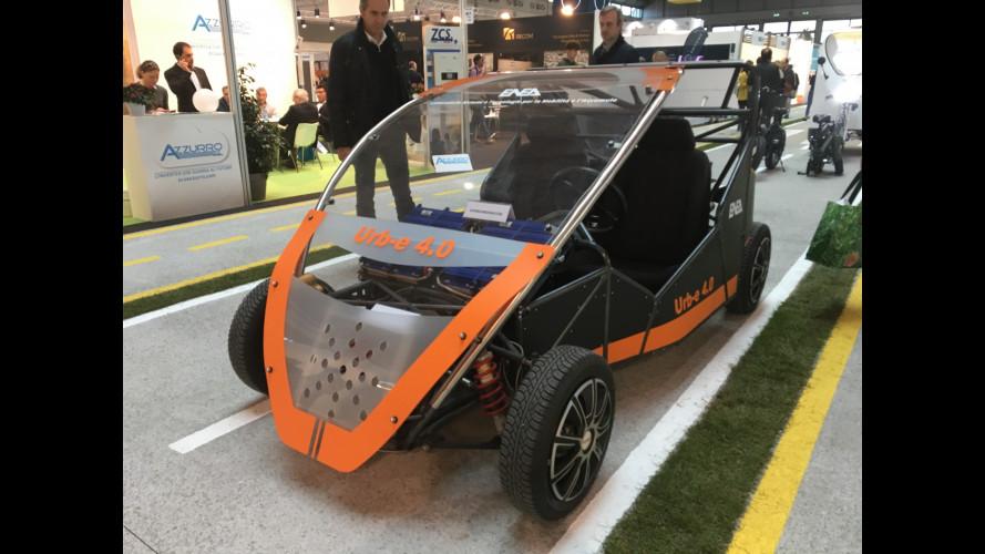 Urb-e 4.0, l'ultimo prototipo di ENEA va a idrogeno