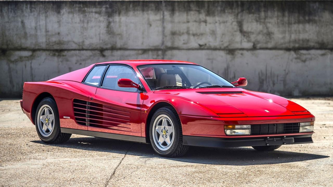 [Copertina] - Ferrari, persa l'esclusiva sul nome Testarossa
