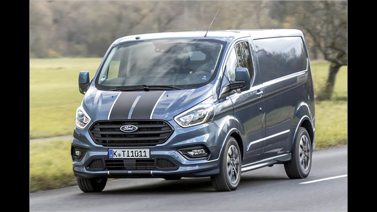 ford transit custom facelift 2017 mit plug in hybrid. Black Bedroom Furniture Sets. Home Design Ideas