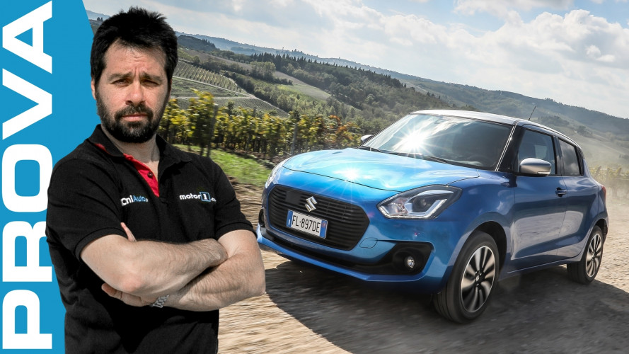Suzuki Swift Hybrid 4WD, la piccola arrampicatrice