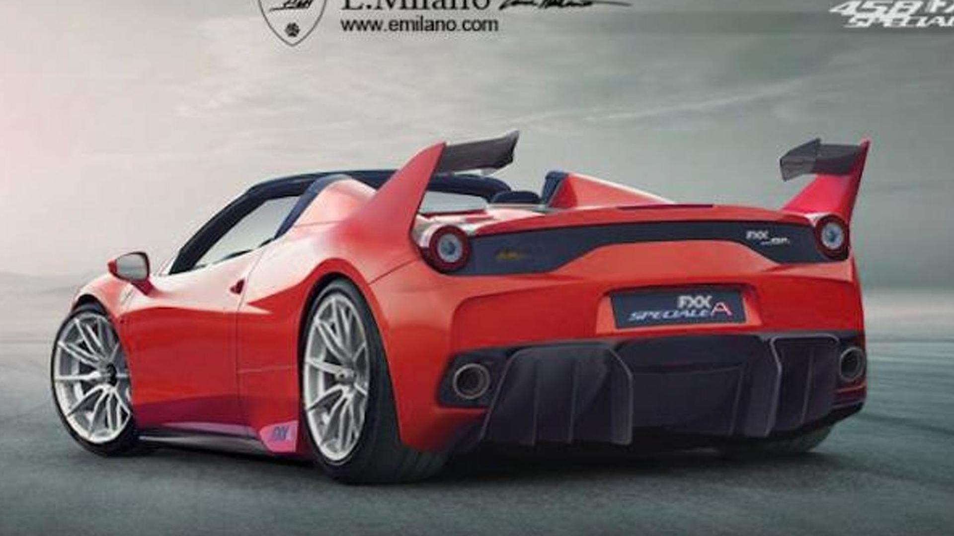 Ferrari 458 Fxx Speciale A Is A Virtual Track Only 458 Speciale Aperta