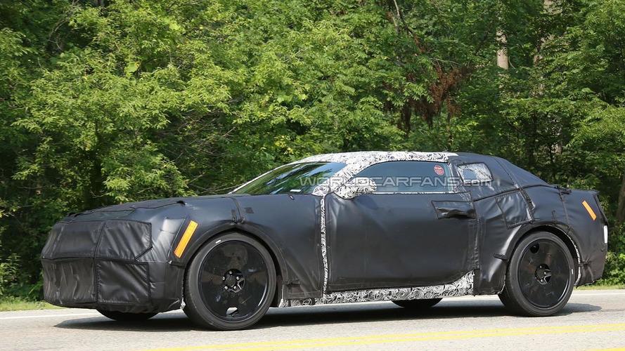 2016 Chevrolet Camaro spied with an evolutionary design