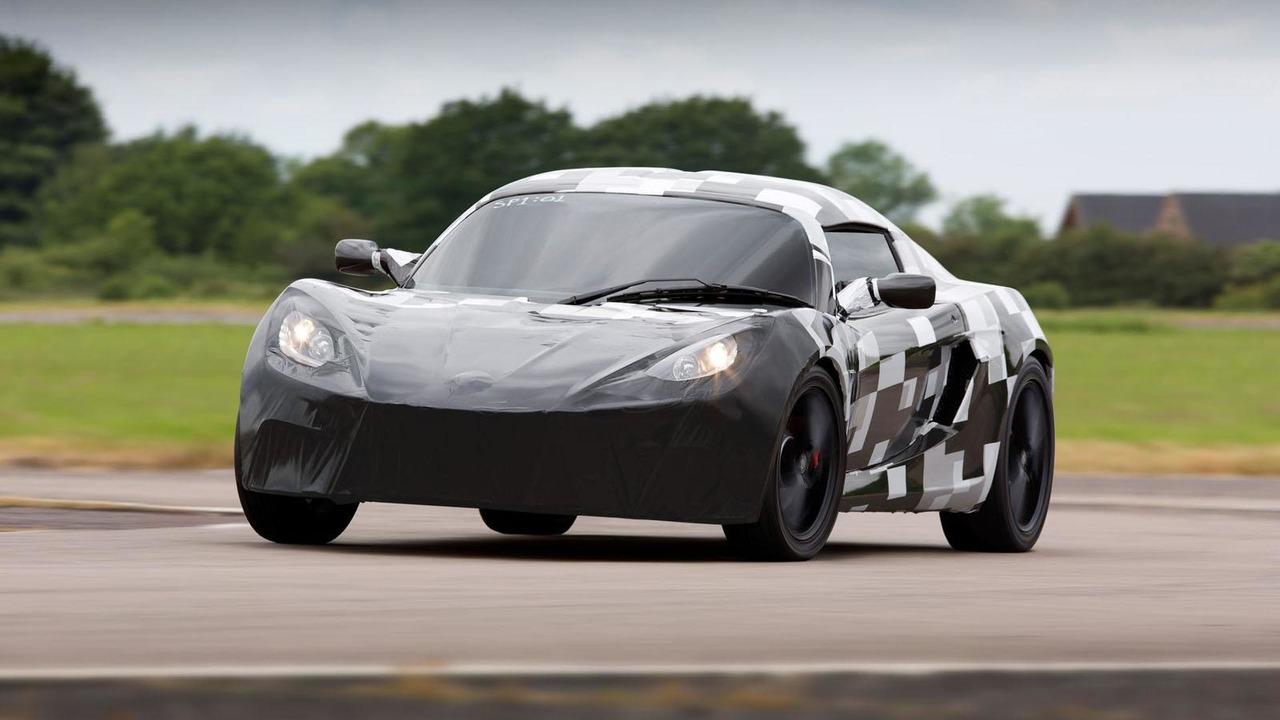 Detroit Electric SP:01 prototype