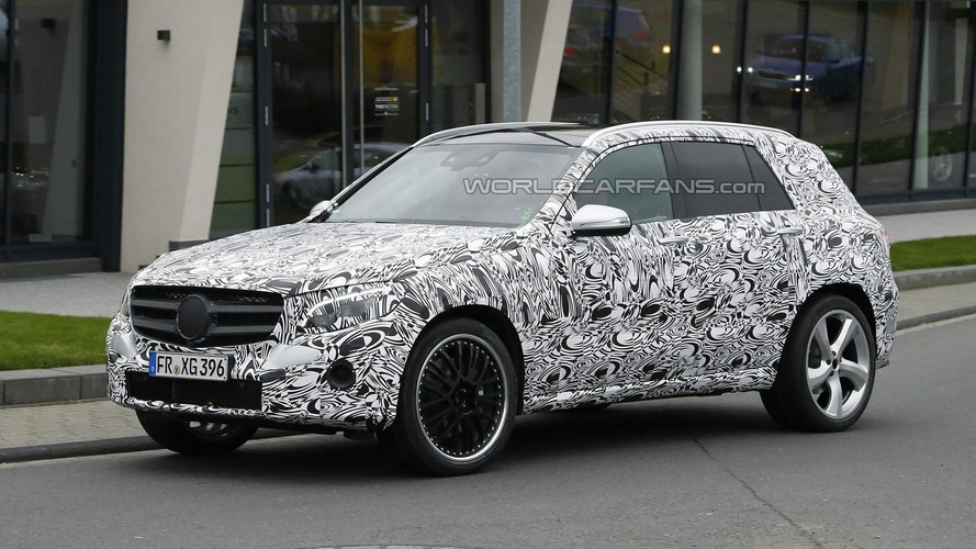 Mercedes-Benz GLC 63 AMG makes spy photo debut