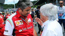 Marco Mattiacci (ITA) with Bernie Ecclestone (GBR) / XPB