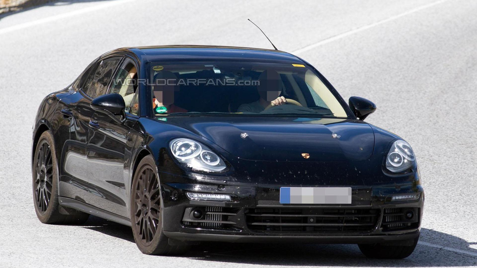 2016 Porsche Panamera S E Hybrid Spied For The First Time