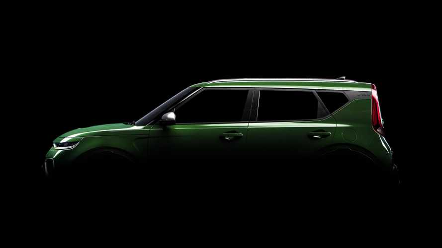 2020 Kia Soul teased with floating roof ahead of LA debut