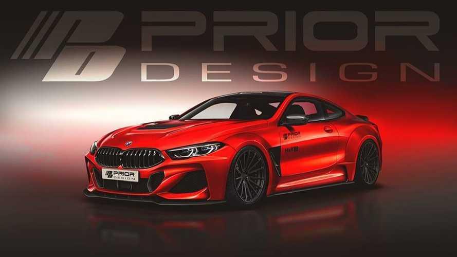 Prior Design s'attaque à la BMW Série 8 !