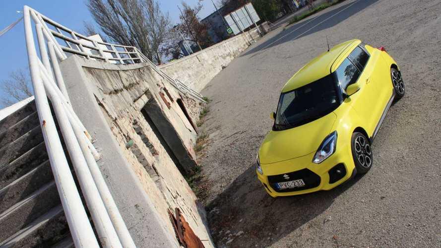 Suzuki Swift Sport: modernizált sportszelet