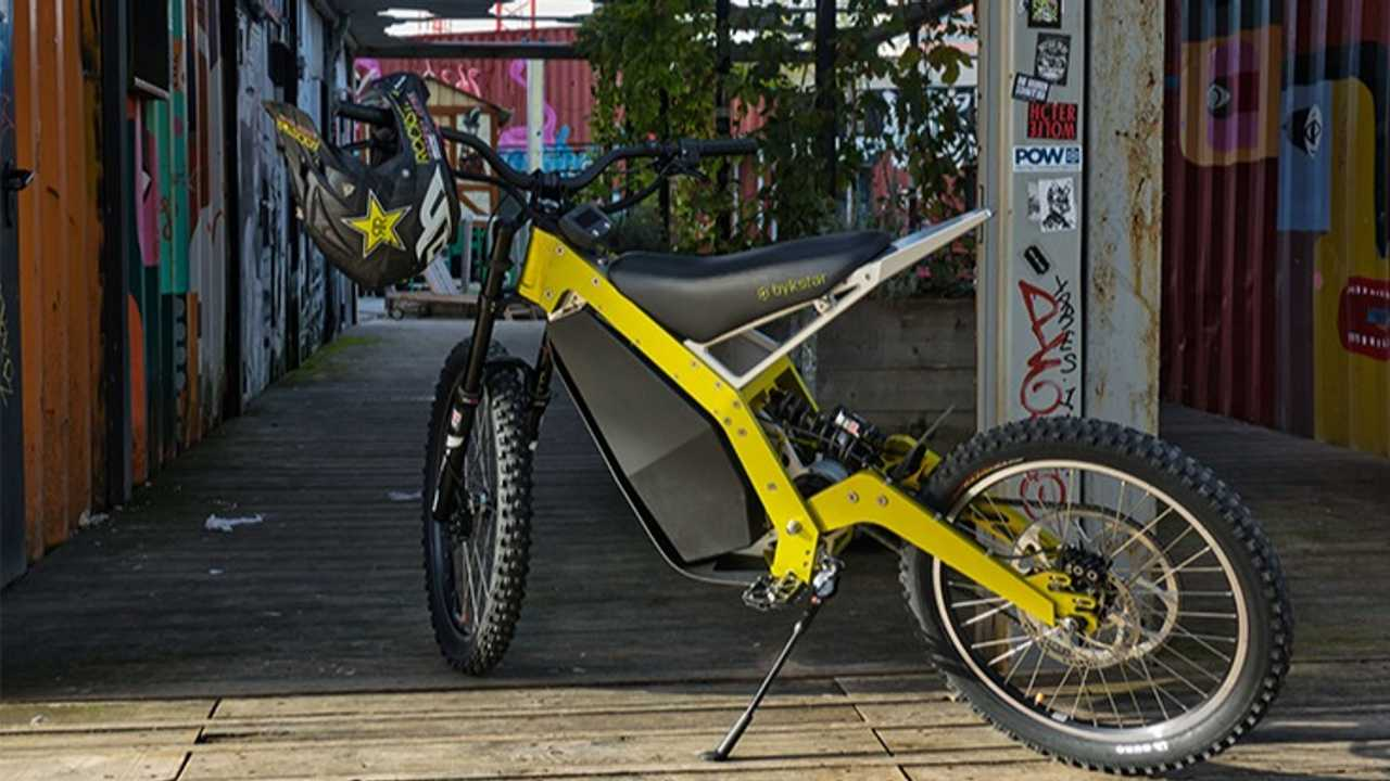 Bykstar's New Electric Dirt Bike Looks Like Tons Of Fun