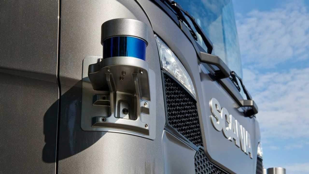 Scania guida autonoma