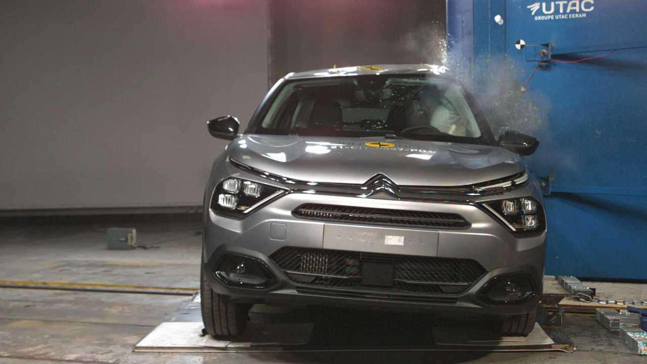 Citroen C4, i crash test Euro NCAP