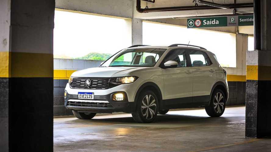 Teste: Volkswagen T-Cross 200 TSI agrada como versão de entrada