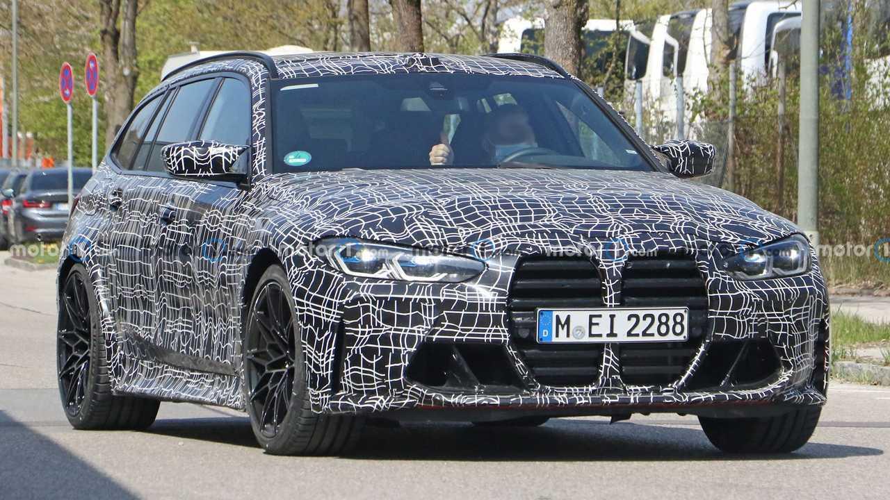 Photo espion BMW M3 Touring