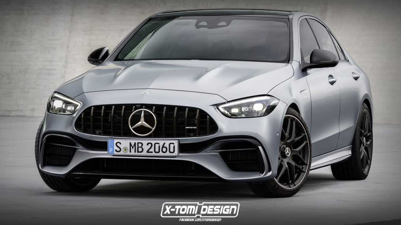 2022 Mercedes-AMG C63 unofficial rendering