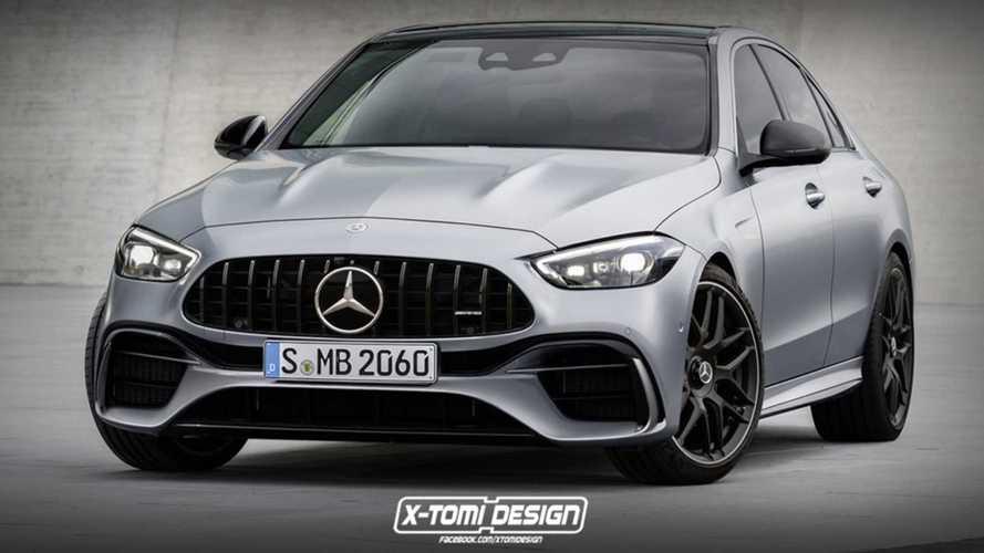 Four-Cylinder Mercedes-AMG C63 Details Emerge: 4,400 LBS, AWD, 550 HP