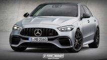 Mercedes-AMG C 63 (2022) neue Details: 2.000 kg, Allrad, 550 PS