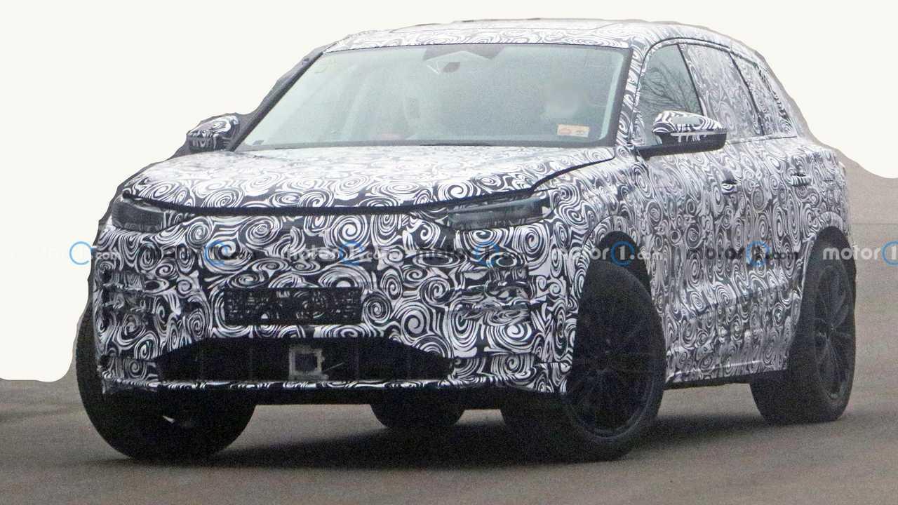Audi Q6 e-tron en phase de test