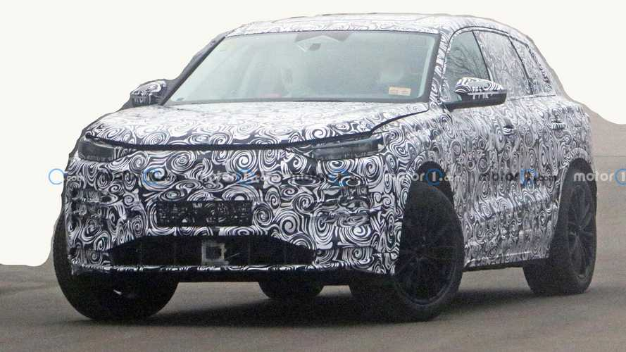 2022 Audi Q5 E-Tron first spy photos