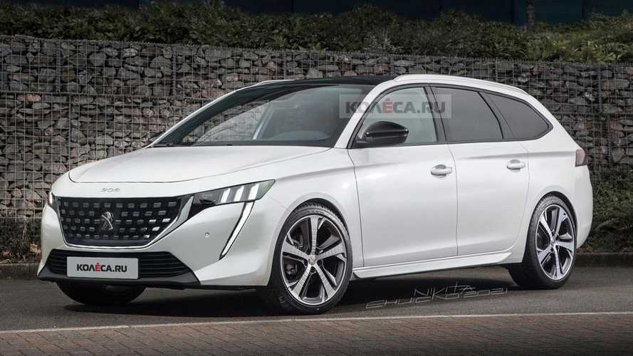 Peugeot 308 estate rendered after first spy photos