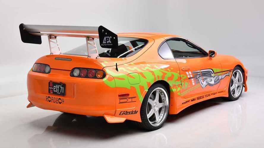 Toyota Supra de Fast and Furious, a subasta
