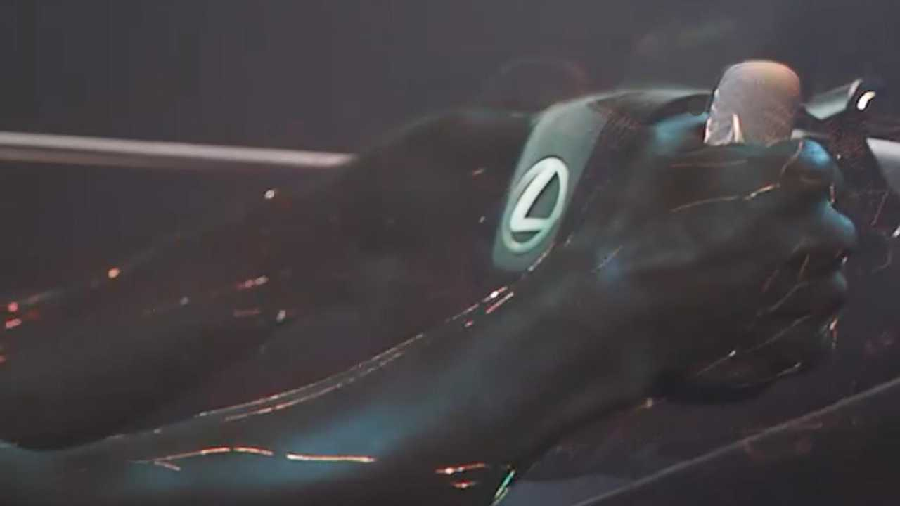 Lexus teaser video shows its new concept car.