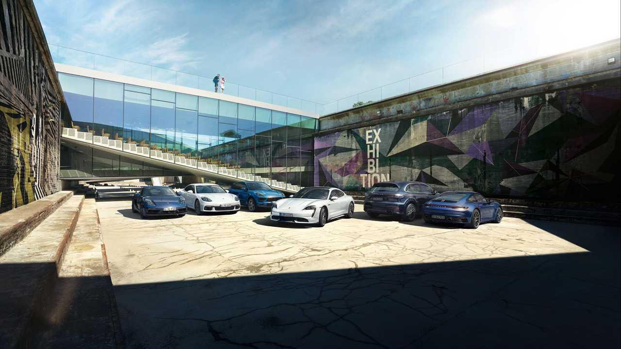 Porsche Drive Subscription Vehicles