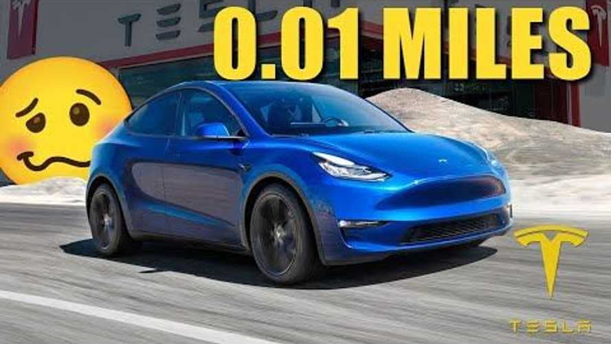 This Guy Thought He Broke His Brand-New 3-Row 2021 Tesla Model Y