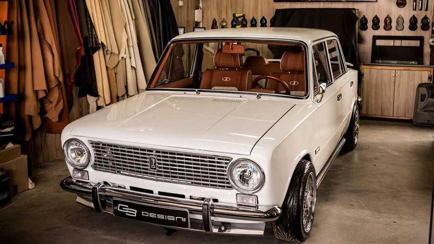 Lada VAZ 2101 interior tuning