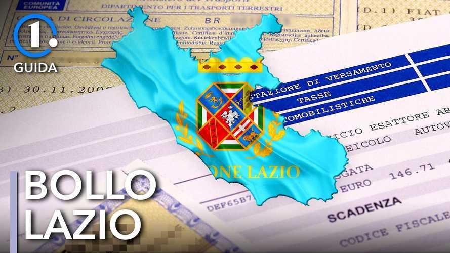 Come si paga il bollo auto nel Lazio