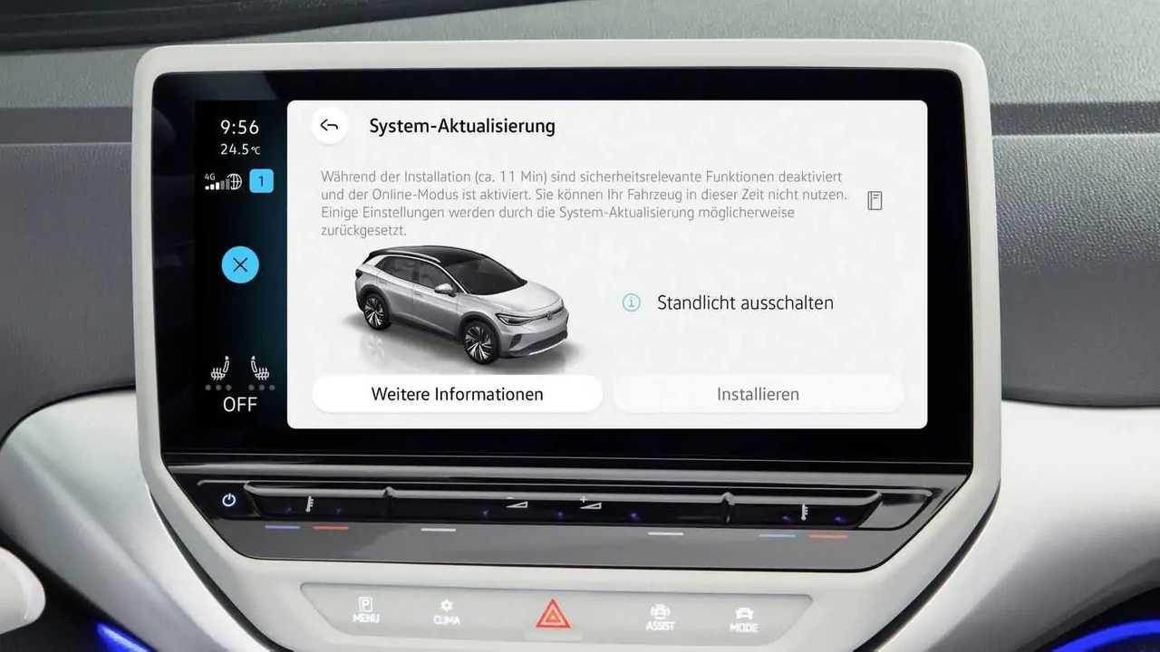 VW beginnt in Kürze mit den OTA-Updates