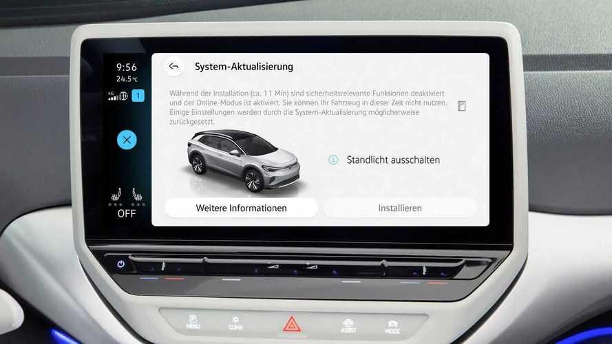 VW ID.3 und ID.4: Erstes Over-the-Air-Update startet heute