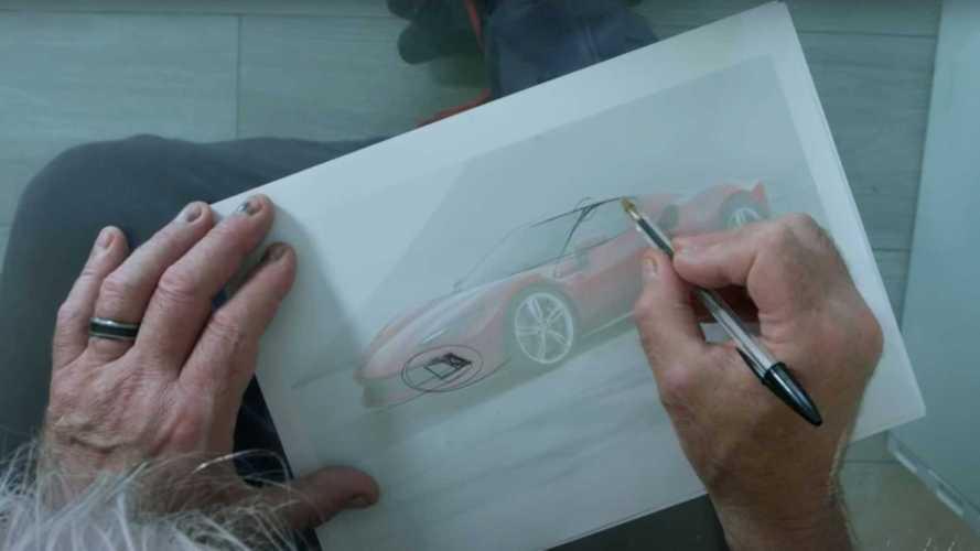 La Ferrari 296 GTB modifiée par un ancien designer de la marque