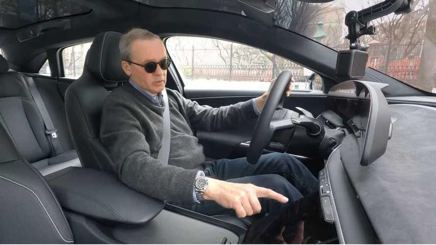 Lucid Motors'un CEO'su, Air ile bir sürüş gerçekleştiriyor