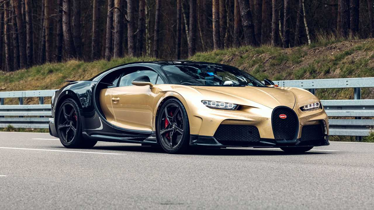 Bugatti Chiron Super Sport testing