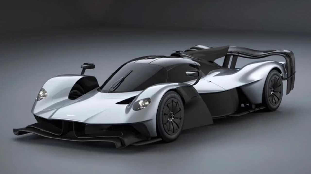 New Aston Martin Valkyrie variant discovered.