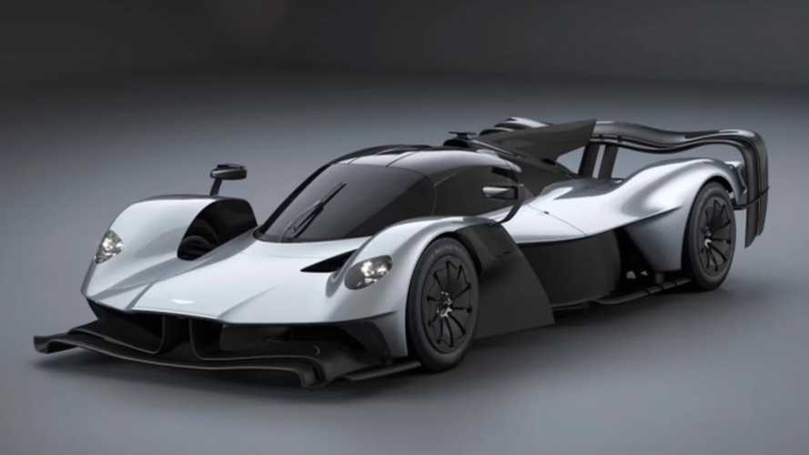 Aston Martin Valkyrie With Crazy Aero Bits Discovered Online