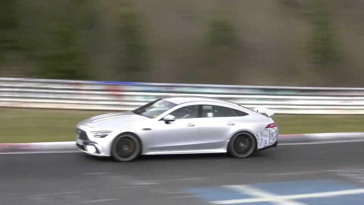 Mercedes-AMG GT73e Nürburgring'de
