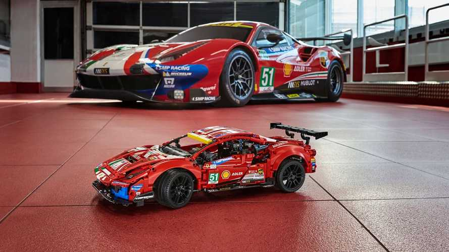 Lego entra negli eSports grazie all'alleanza con Ferrari