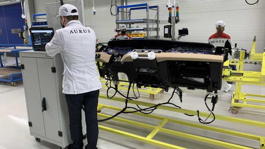 Завод Aurus в Татарстане