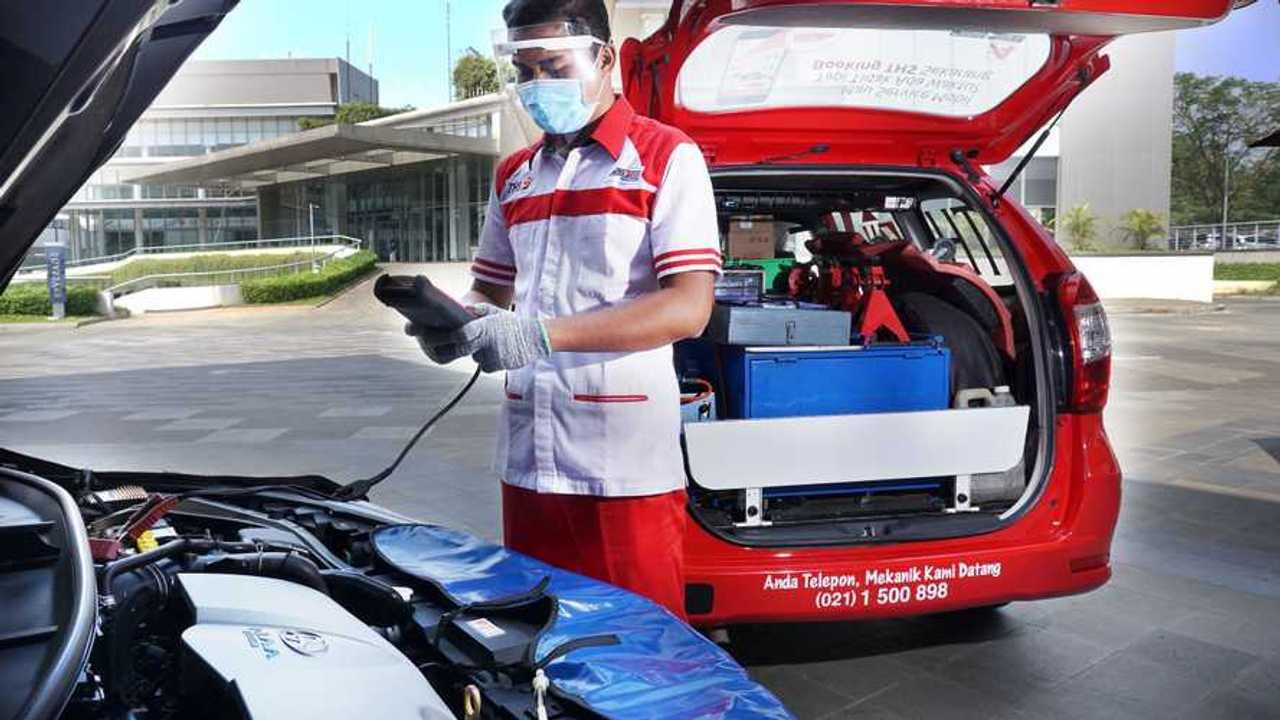 Toyota Home Service siap kunjungi rumah Anda.