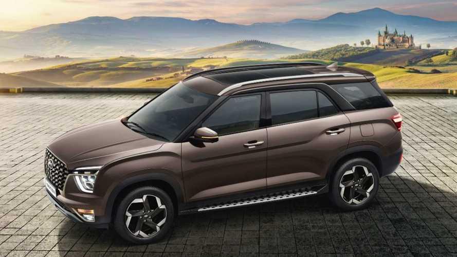 Hyundai Alcazar: Creta de 7 lugares faz estreia oficial na Índia