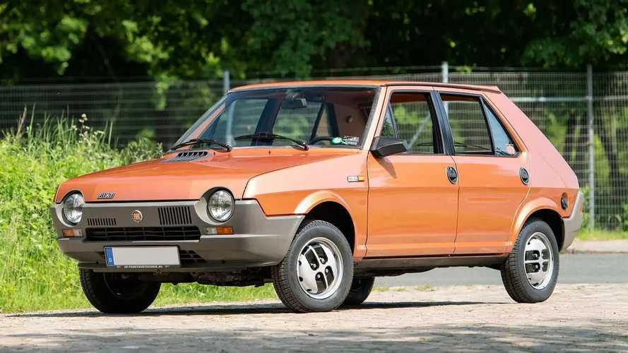 ¿Recuerdas el Fiat Ritmo? Se subasta uno por 15.000 euros
