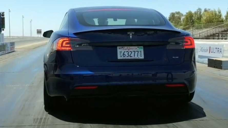 Watch Tesla Model S Plaid Hit Sixty In 1.98 Seconds