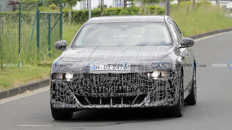 Foto Mata-mata Terbaru BMW Seri 7 2023