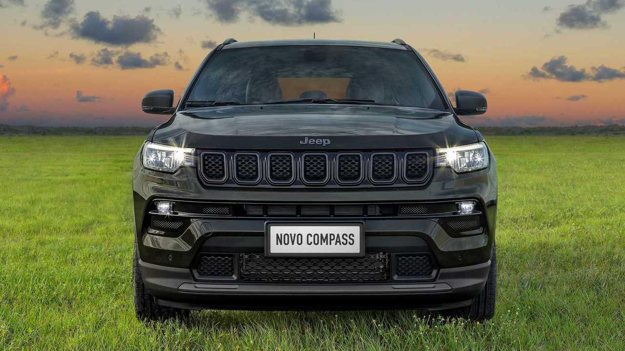 Nova dianteira do  Jeep Compass 2022